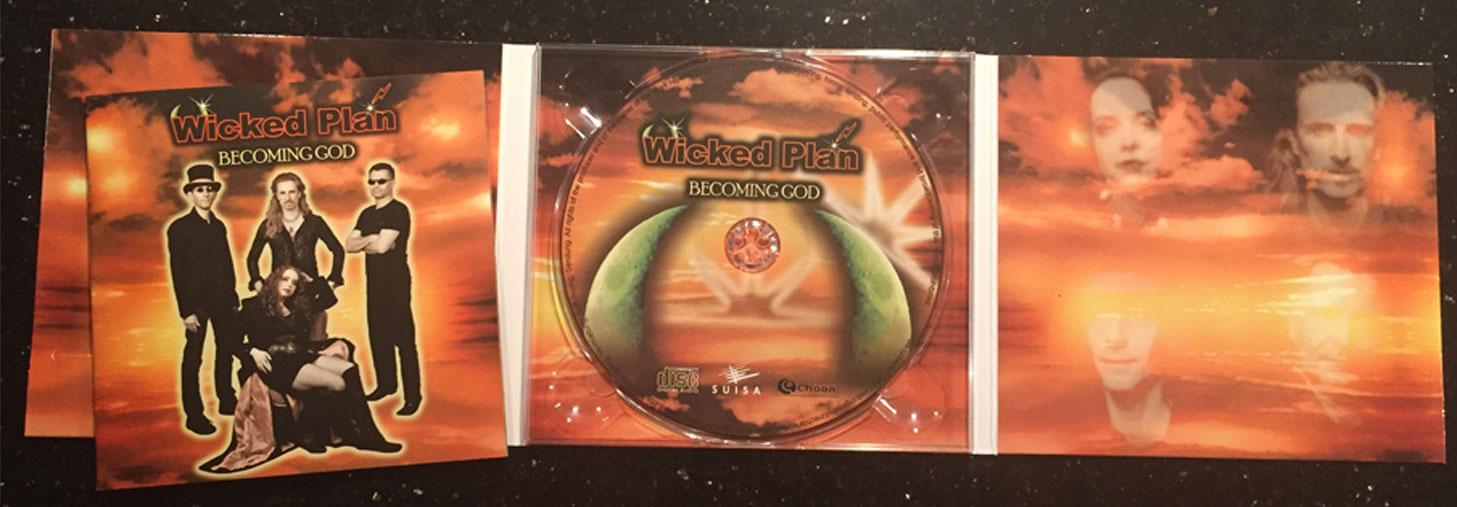 'Becoming God' CD
